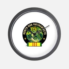 Vietnam Veterans Wall Clock