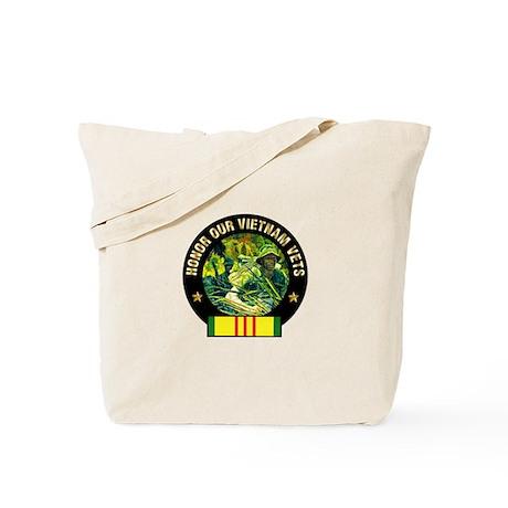Vietnam Veterans Tote Bag