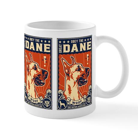Obey the Great Dane! Coffee Mug