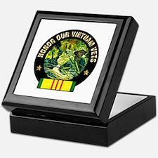 Vietnam Veterans Keepsake Box