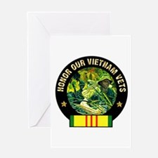 Vietnam Veterans Greeting Card