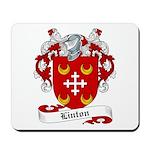 Linton Family Crest Mousepad