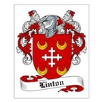 Linton Family Crest Small Poster