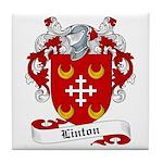 Linton Family Crest Tile Coaster