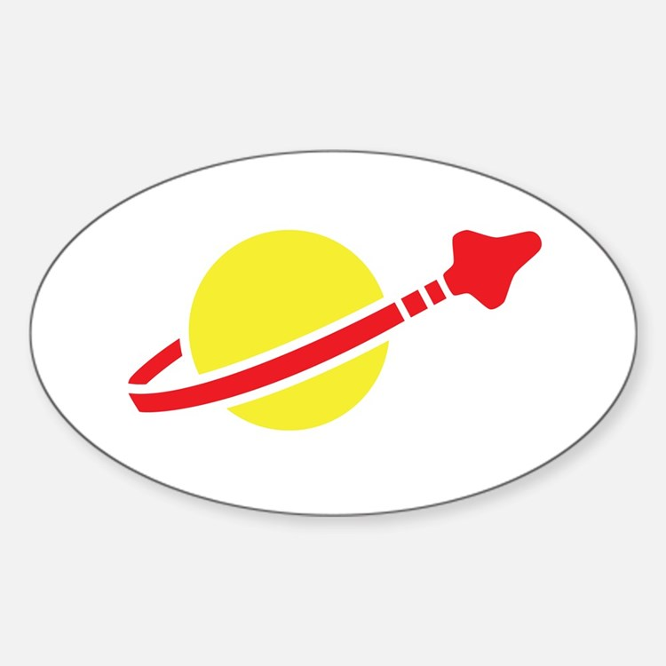 Space Logo Oval Decal