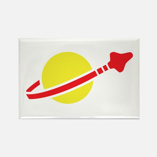 Space Logo Rectangle Magnet