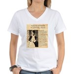 Lilly Langtry Women's V-Neck T-Shirt