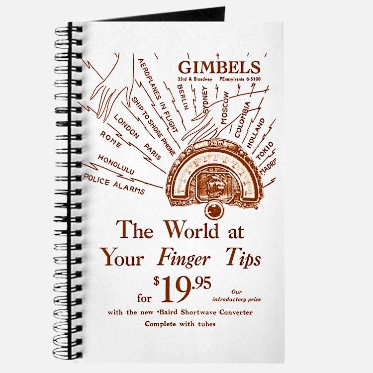 Gimbels Radio Ad Journal