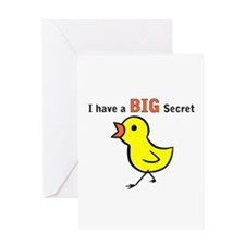 Chicks Big Secret Big Brother Greeting Card