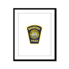 Braintree Police Framed Panel Print