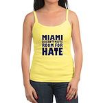 No Hate Miami Jr. Spaghetti Tank Top