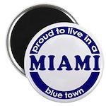 Miami: Blue Town Magnet