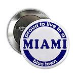 Miami: Blue Town Button