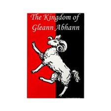 Gleann Abhann Populace Rectangle Magnet