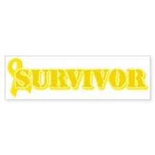 Survivor (Suicide) Bumper Car Sticker