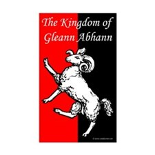 Gleann Abhann Populace Rectangle Sticker 10 pk)