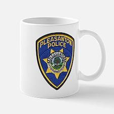 Pleasanton Police Mug