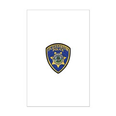 Pleasanton Police Posters