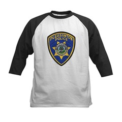 Pleasanton Police Kids Baseball Jersey