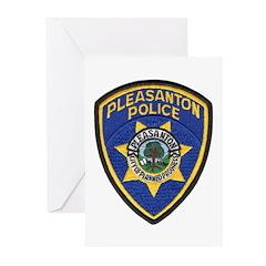 Pleasanton Police Greeting Cards (Pk of 10)