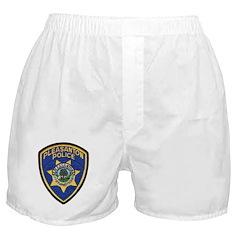 Pleasanton Police Boxer Shorts