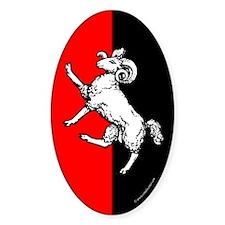 Gleann Abhann Populace Oval Sticker (50 pk)