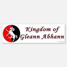 Gleann Abhann Populace Bumper Bumper Bumper Sticker