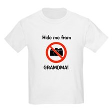 Hide me from Grandma (no pict T-Shirt