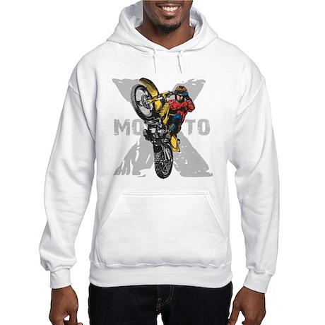 Motorcross Stunt Hooded Sweatshirt
