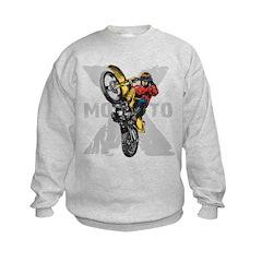 Motorcross Stunt Sweatshirt