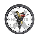 Dirt bikes Wall Clocks