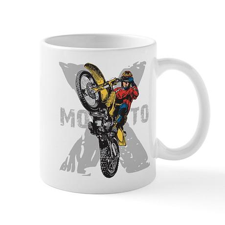 Motorcross Stunt Mug