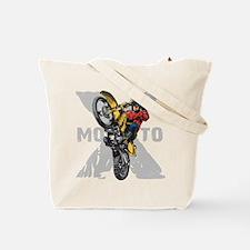 Motorcross Stunt Tote Bag