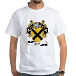 Loch Family Crest White T-Shirt