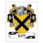 Loch Family Crest Small Poster
