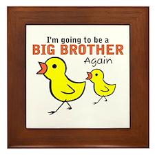 Chicks Big Secret Big Brother Again Framed Tile