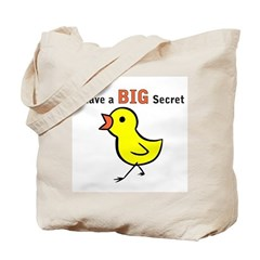Chicks Big Secret Big Sister Tote Bag