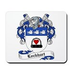Lockhart Family Crest Mousepad