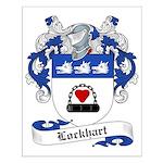 Lockhart Family Crest Small Poster