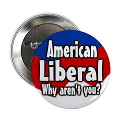 Ten bulk American Liberal Buttons