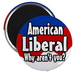 American liberal magnet