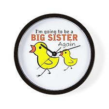 Chicks Big Secret Big Sister Again Wall Clock