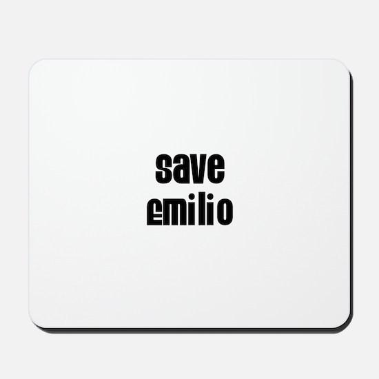 Save Emilio Mousepad