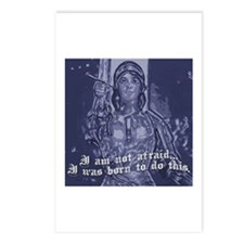 Joan of Arc (I am not afraid. Postcards (Package o