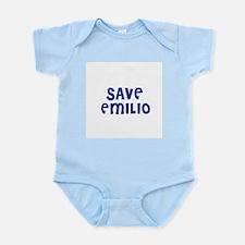 Save Emilio Infant Creeper