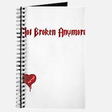 Not Broken Anymore Journal