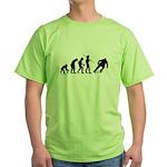 Skateboard Evolution Green T-Shirt