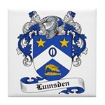 Lumsden Family Crest Tile Coaster