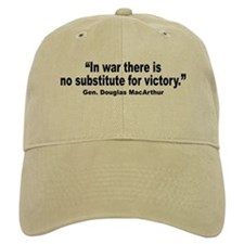 No Substitute for Victory Quote Baseball Baseball Cap