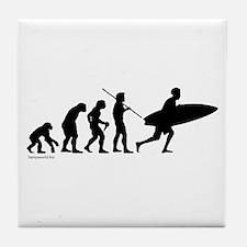 Surfer Evolution Tile Coaster